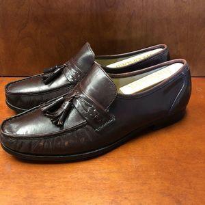 Bostonian 28088 Men's Slip-On Burgundy Leather